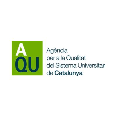 Logo AQU - Agència per a la Qualitat del Sistema Universitari de Catalunya