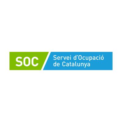 Logo SOC - Servei d'Ocupació de Catalunya